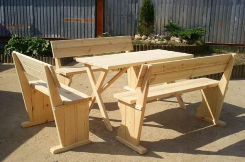 Из чего сделать садовую мебель (1)